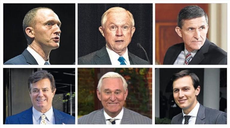 Los seis personajes clave del 'Rusiagate'