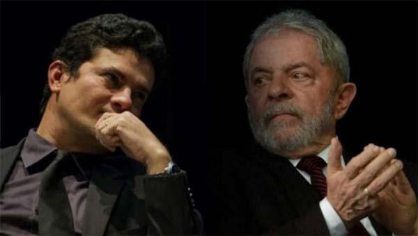 Sergio Moro y Lula