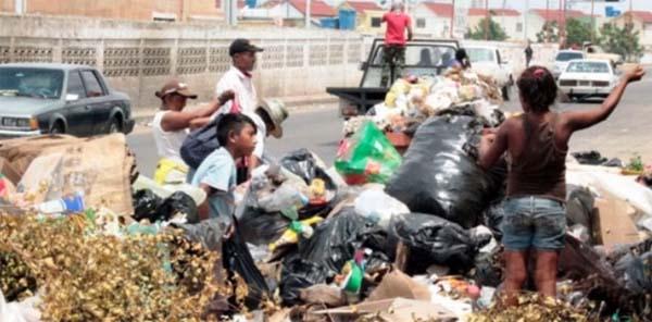 Venezuela comen basura