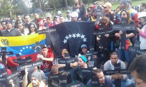 Venezuela por los caídos