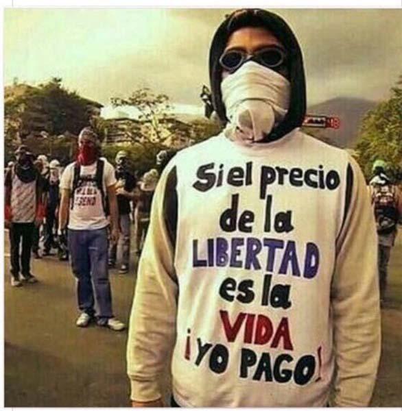 Venezuela precio de la Libertad