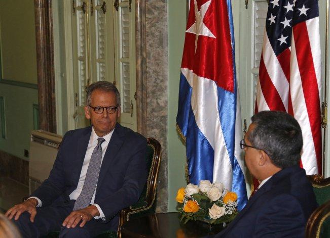 Jeffrey DeLaurentis, actual jefe de misión en Cuba.<br>