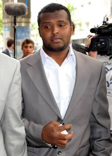 Yacqub Khayre, identificado como el autor del ataque.