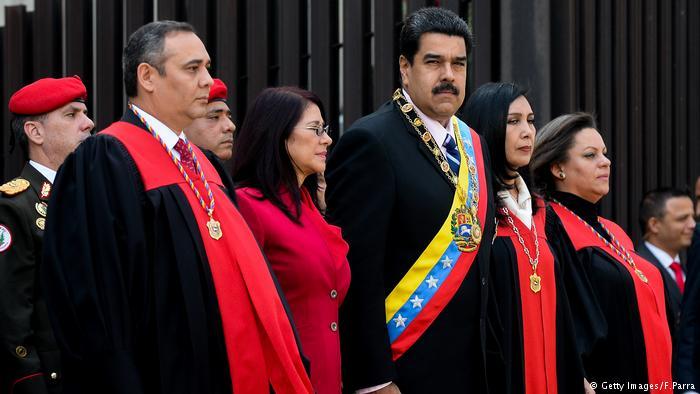 Venezuela Nicolas Maduro Maikel Moreno (Getty Images/F.Parra)
