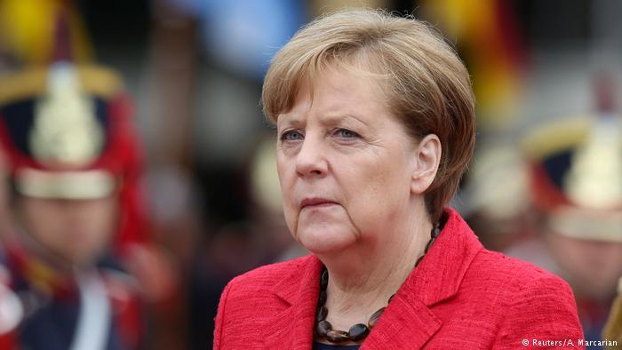 Argentinien Bundeskanzlerin Angela Merkel (Reuters/A. Marcarian)