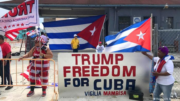 USA Kuba Unterstützung für US-Präsident Donald Trump (Reuters/B. Woodall)
