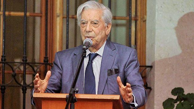 Mario Vargas Llosa cuestiona al Papa Francisco. (USI)
