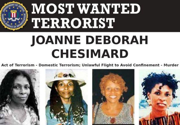Cartel del FBI de búsqueda de Shakur