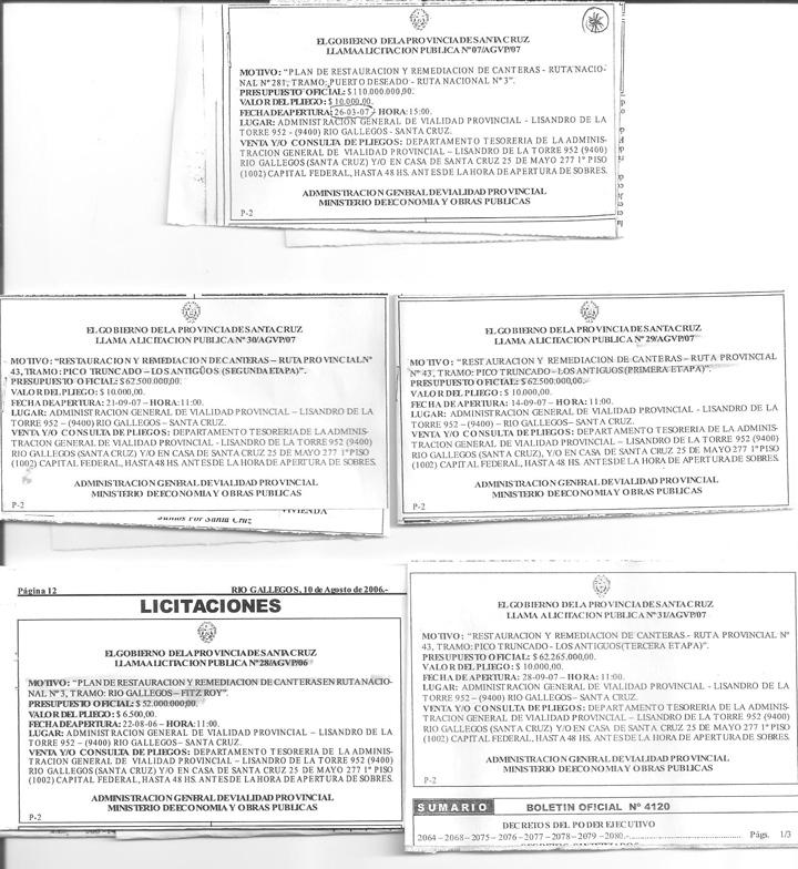 Licitaciones Canteras 2