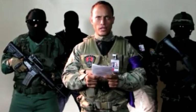 Resultado de imagen para Mensaje de Oscar Pérez: el hombre que sobrevoló un helicóptero en Caracas