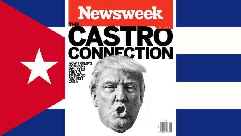 Trump viola embargo a Cuba
