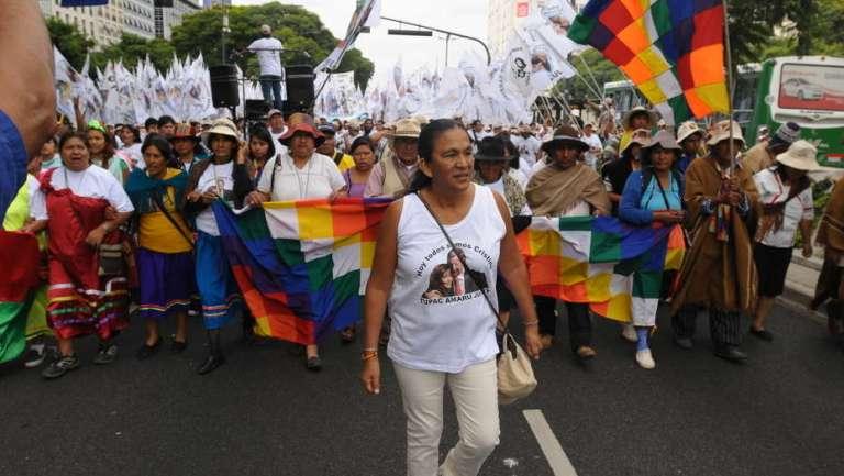 Muerte tras la golpiza de Milagro Sala a un militante