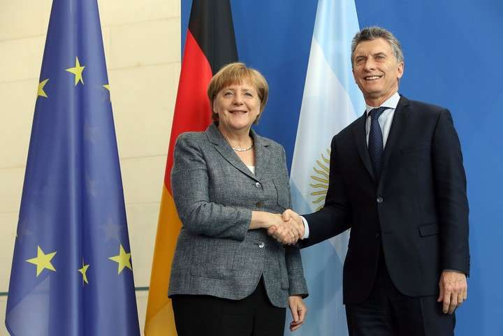 Angela Merkel se reúne con Macri en un anticipo de la Cumbre del G-20