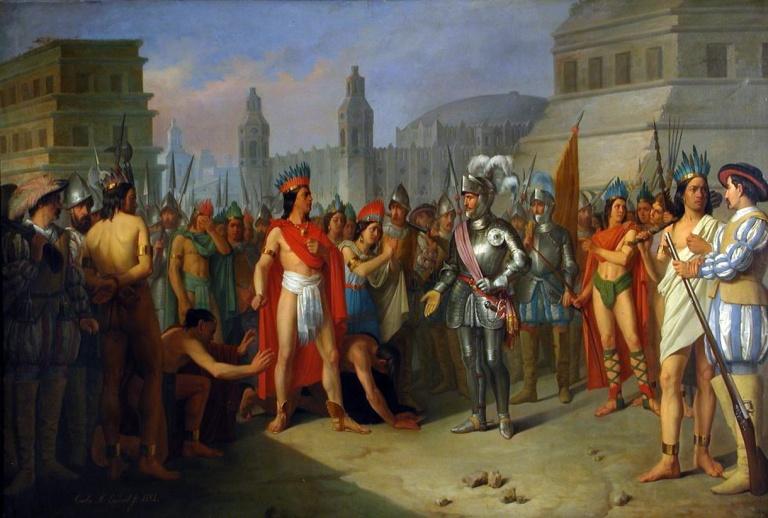 Hernán Cortés y Moctezuma