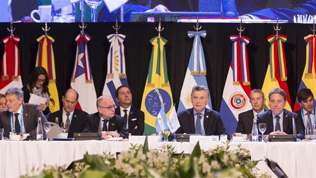 """Macri está coordinando con sus pares del Mercosur la expulsión de ese país del bloque regional, porque """"claramente no es una democracia"""""""