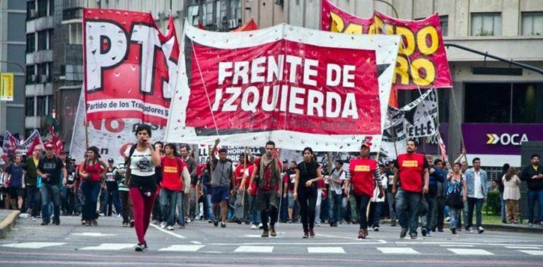 El Frente de Izquierda lucha en la justicia con la Izquierda al Frente. (Twitter)