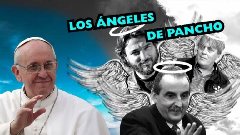 """Editorial de Jorge Lanata contra """"los ángeles"""" del papa Francisco y la """"hipocresía"""" por el """"Polaquito"""""""