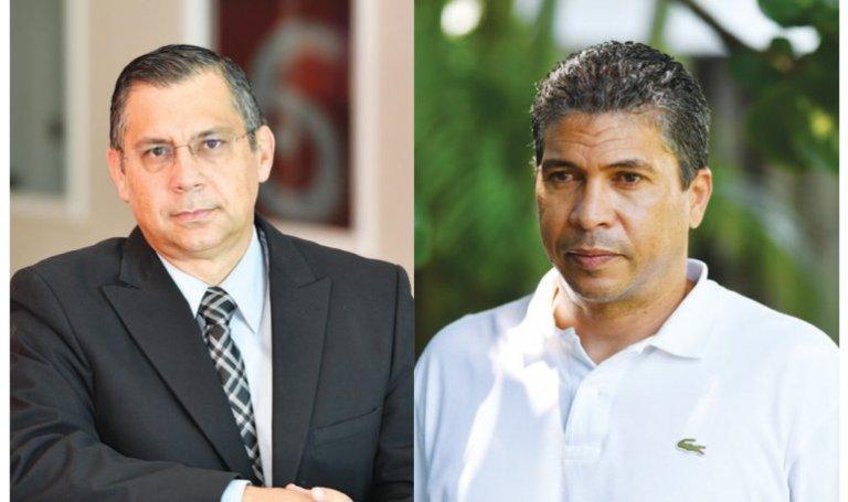 El periodista Rolando Nápoles y el opositor y activista político Iván Picón.