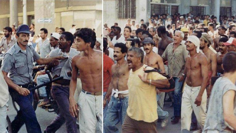 Imñagenes de archivo de El Maleconazo en La Habana