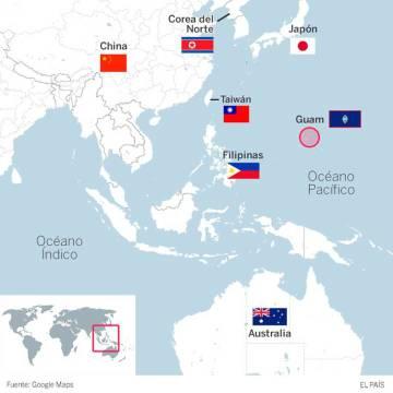 Guam, una pequeña joya estratégica del Pacífico