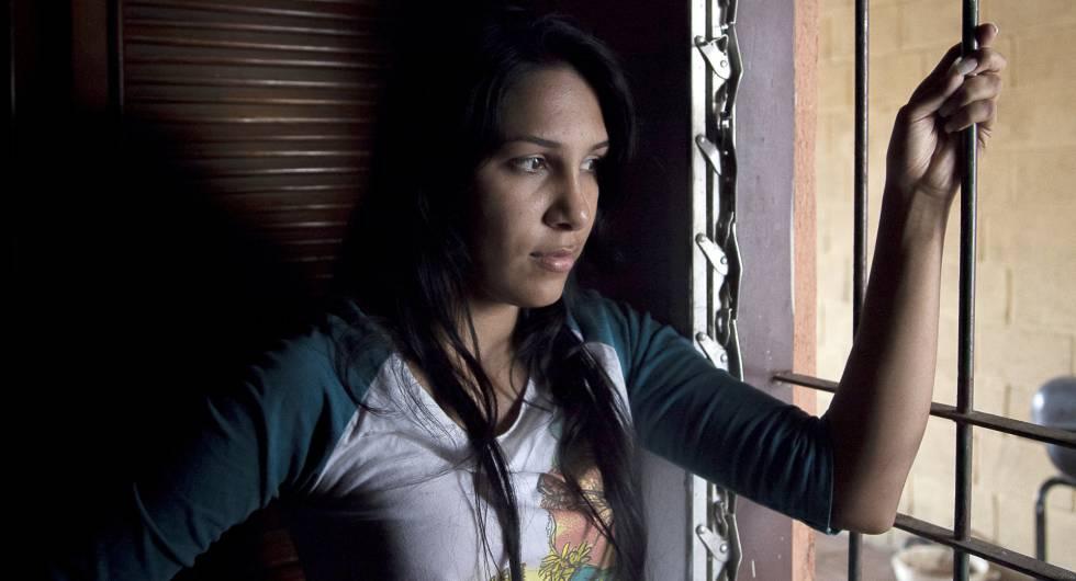 Mileidy González, auxiliar de enfermería detenida en una protesta.