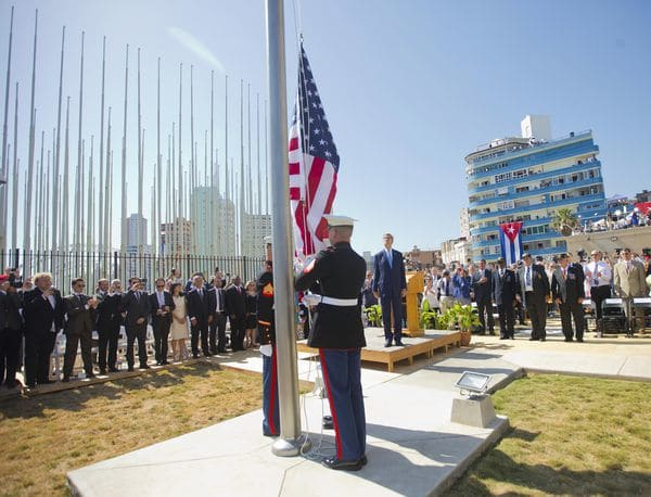 Los diplomáticos estadounidenses son frecuentemente vigilados por las autoridades cubanas