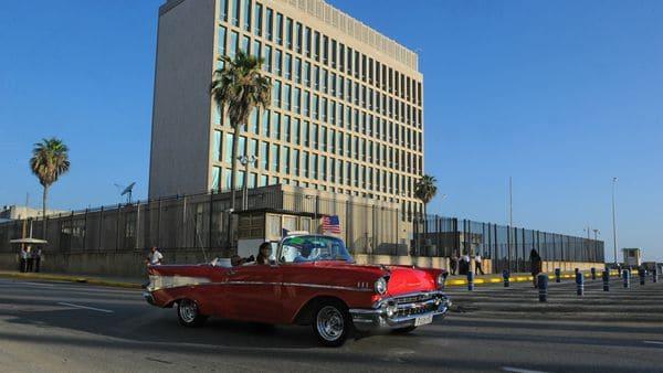 La embajada de Estados Unidos en La Habana, reabierta en 2015