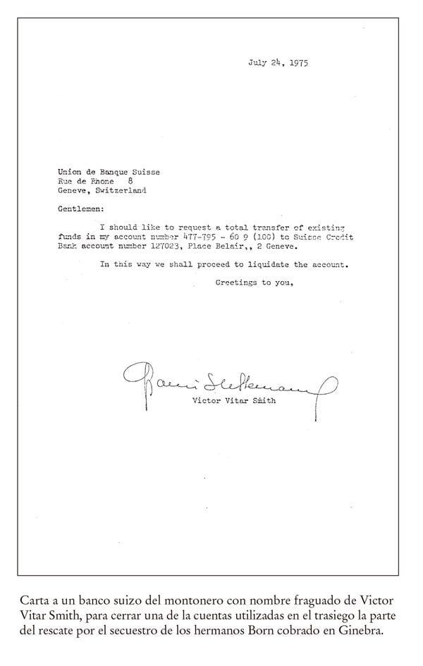 Documento incluido en el anexo del libro de Gasparini