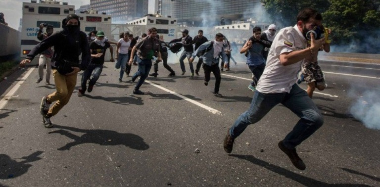 guerra civil en venezuela