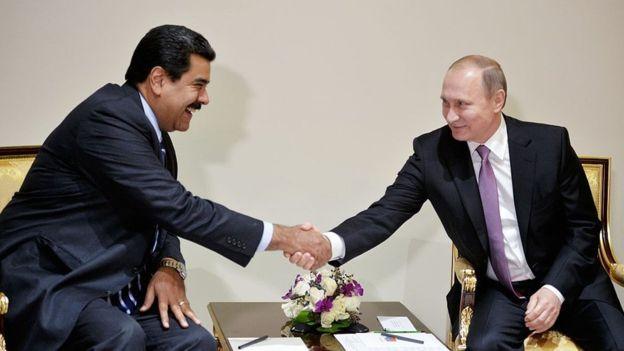 Rusia también salió en apoyo del gobierno de Maduro/ AFP