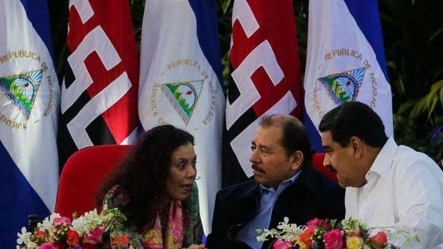 """Nicaragua también denunció """"el afán imperialista de dominio""""/ AFP"""