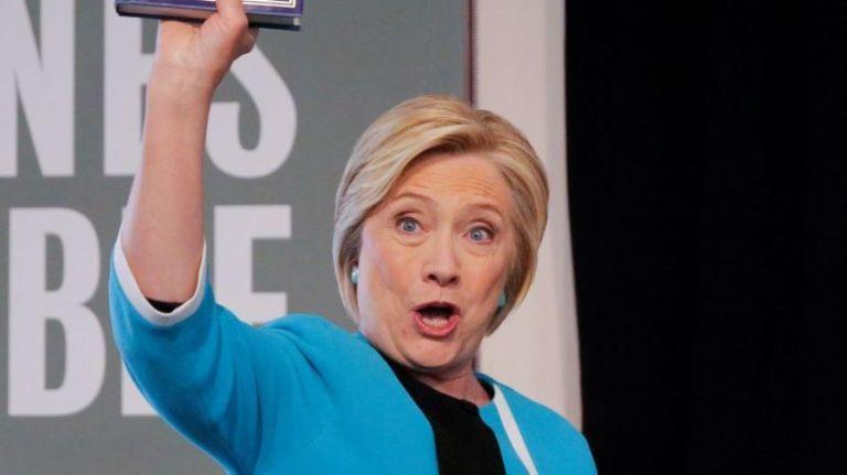 Hillary Clinton y su furcio sobre la frontera entre las Coreas