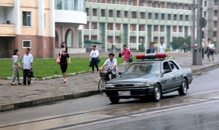 Policia, Corea del Norte