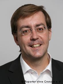 ROG Geschäftsführer Christian Mihr (Reporter ohne Grenzen e. V.)