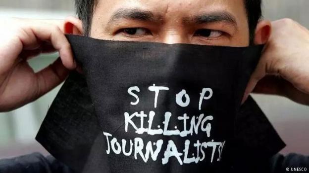 UNESCO Pressebild Journalistenmorde (UNESCO)