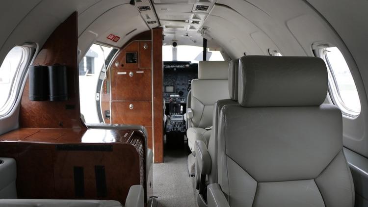 El avión que perteneció a Lázaro Báez (Lihueel Althabe)