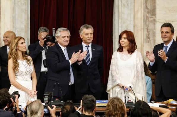 Cristina Fernández no ocultó su desagrado por Mauricio Macri / Foto: @alferdez