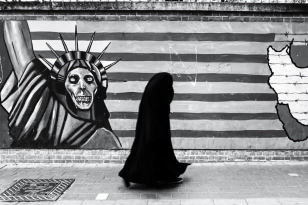 Irán Teheran América Burka 940x626