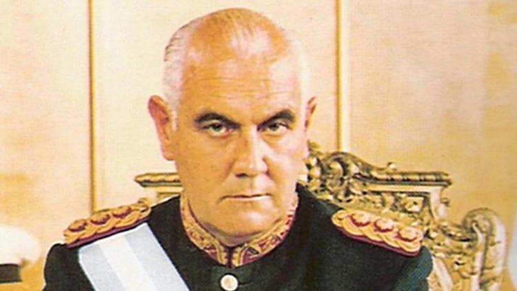 Presidente de facto Alejandro Agustín Lanusse