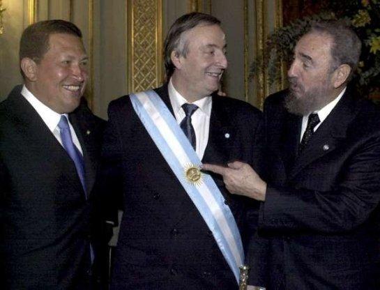 Hora 25: Kirchnerismo y Castrochavismo: las dos caras de la nueva ...