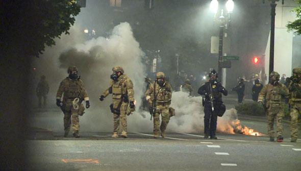 New Gingrich describió los disturbios y disturbios en Portland liderados por los demócratas como un desastre