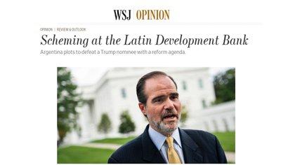 El editorial de The Wall Street Journal
