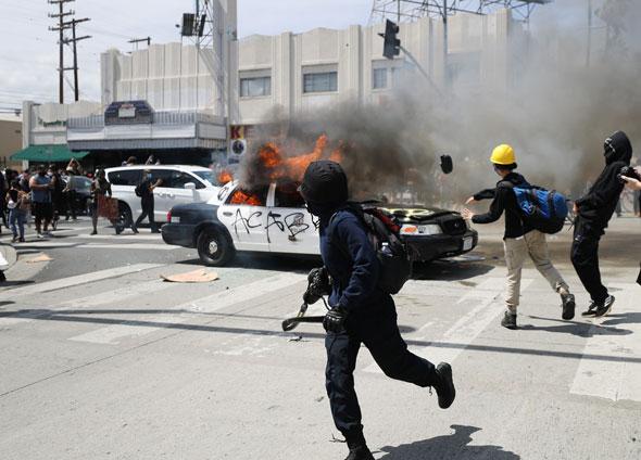 George Soros está acusado de financiar la violencia de extrema izquierda que ha devastado ciudades en todo Estados Unidos.