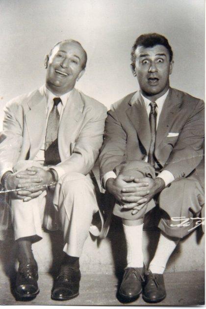 El dúo Dick y Biondi (gentileza Leonardo Mauricio Greco)