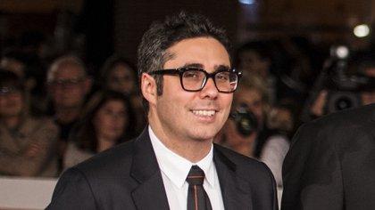 Max Arveláiz cuando presentó la película Snowden en el Festival de Roma
