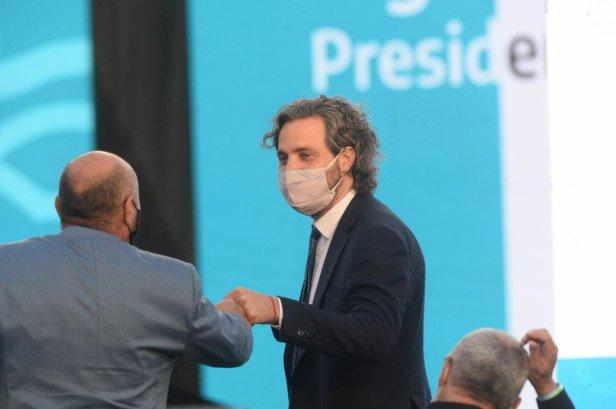 Santiago Cafiero, el nieto de de Antonio, el primer ministro de Economía que llegó a Gobernador de la Provincia de Buenos Aires. Foto:Mauricio Nievas