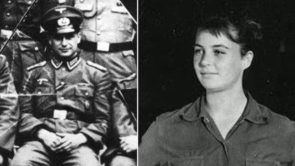 """Klaus Barbie y Mónica Ertl. Ella lo llamaba """"El Tío"""", pero él la terminó delatando"""