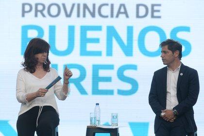 Cristina Kirchner en La Plata