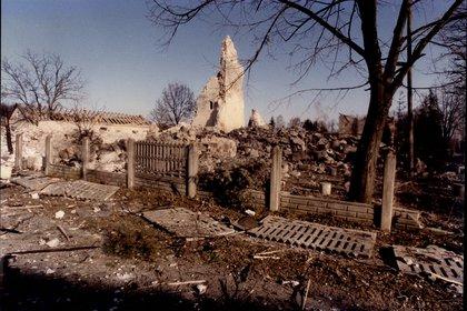 Solo tras el conflicto de Bosnia la violación como arma de guerra se la consideró delito contra la humanidad. (Lynn Hilton/ANL/Shutterstock).