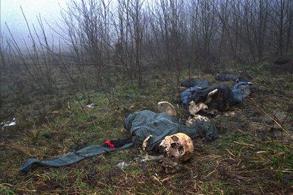 El juicio sobre las violaciones en Foca sucedió al mismo tiempo que el de Srebrenica, donde fueron masacrados 8.300 bosniacos. (AP Photo/Alexander Zemlianichenko)